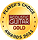 Guitar Tricks is a Acoustic Guitar Player's Choice Gold Winner.